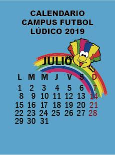 CALENDARIO CAMPUS FUTBOL